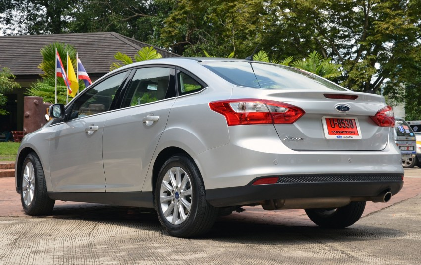 DRIVEN: New Ford Focus Hatch and Sedan in Krabi Image #118269