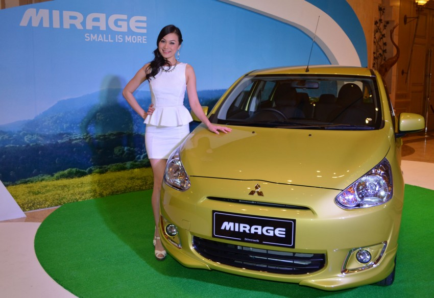 Mitsubishi Mirage officially launched – RM55k to 63k Image #141947