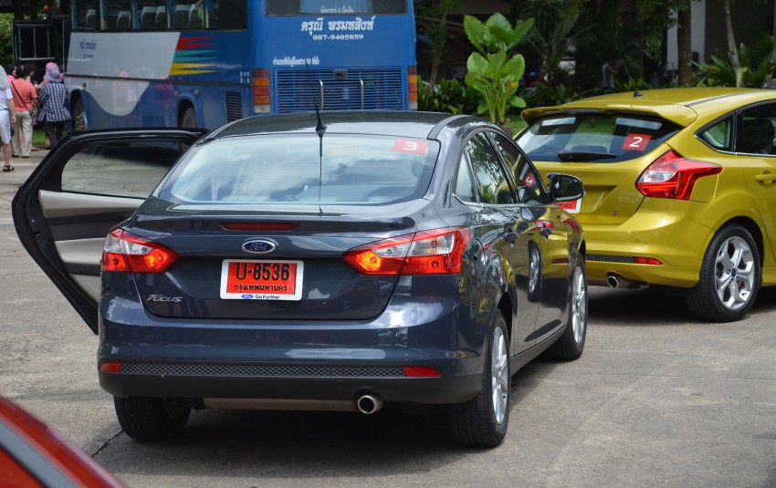 DRIVEN: New Ford Focus Hatch and Sedan in Krabi Image #118273