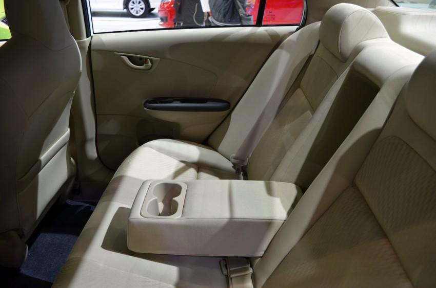 Honda Brio Amaze – Brio sedan eco car makes debut Image #143647