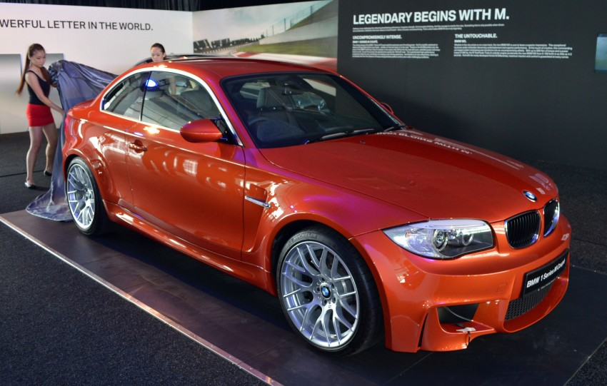 BMW 1 Series M Coupe: only 3 for Malaysia, RM509k Image #113370