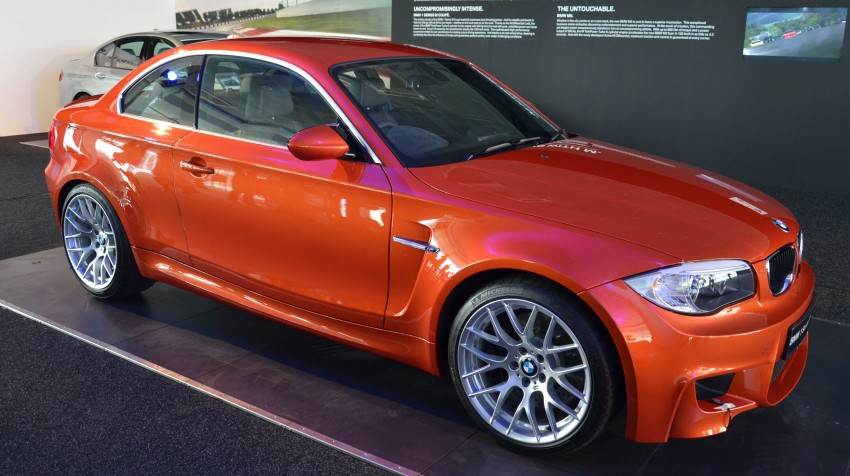 BMW 1 Series M Coupe: only 3 for Malaysia, RM509k Image #113374