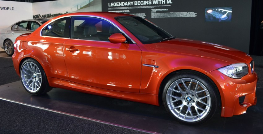 BMW 1 Series M Coupe: only 3 for Malaysia, RM509k Image #113371