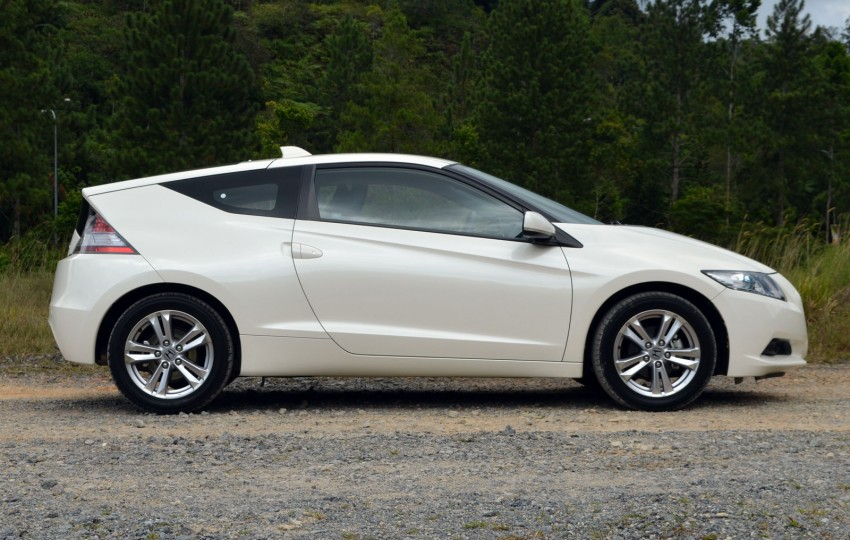 TESTED: Honda CR-Z Hybrid, both Manual and CVT driven in Malaysia and Japan Image #103673