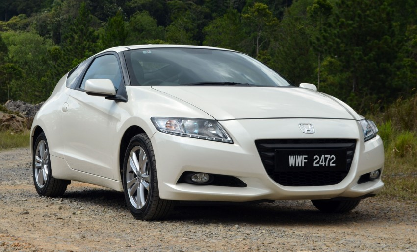 TESTED: Honda CR-Z Hybrid, both Manual and CVT driven in Malaysia and Japan Image #103674