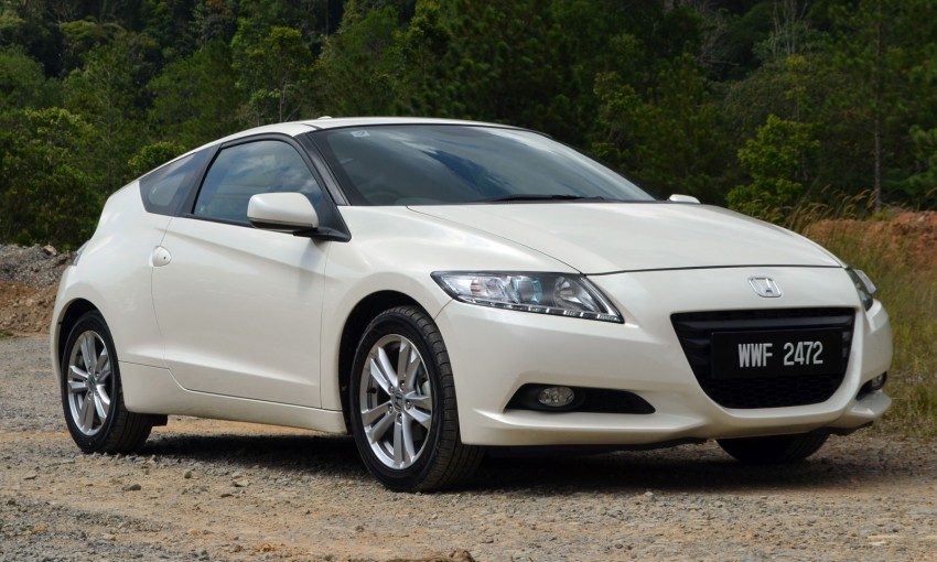 TESTED: Honda CR-Z Hybrid, both Manual and CVT driven in Malaysia and Japan Image #103675