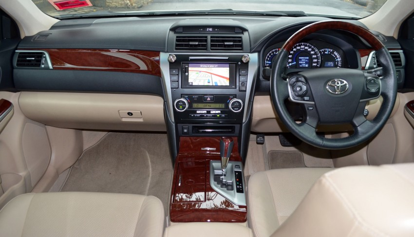 DRIVEN: Toyota Camry 2.5V Test Drive Report Image #135992