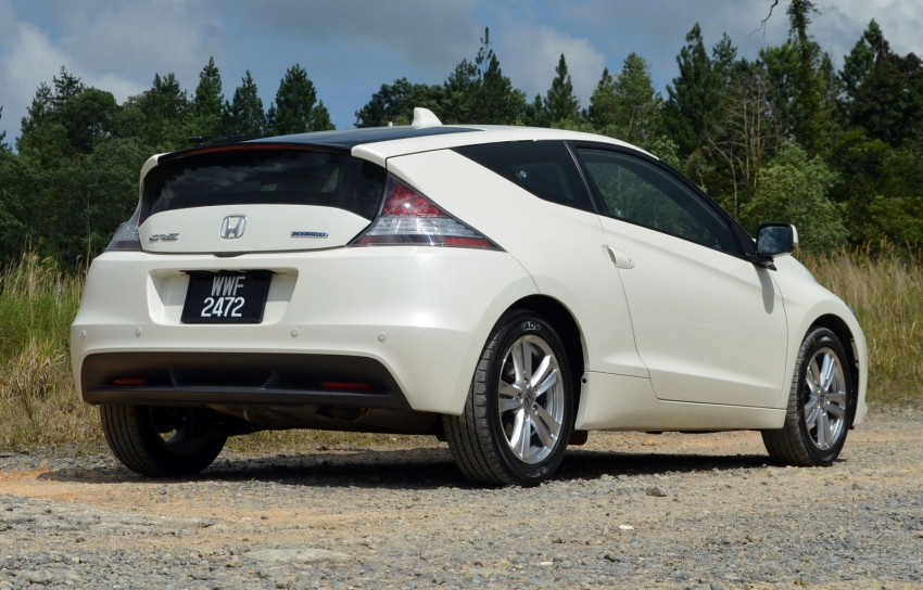 TESTED: Honda CR-Z Hybrid, both Manual and CVT driven in Malaysia and Japan Image #103677