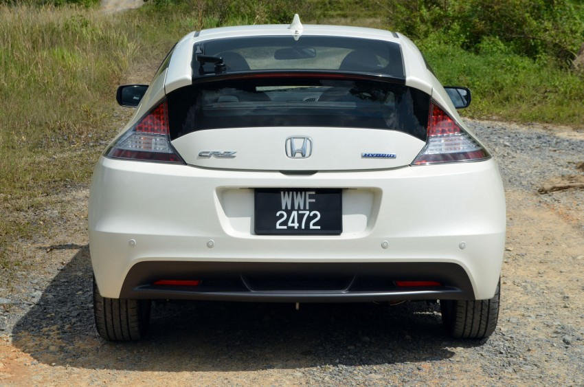 TESTED: Honda CR-Z Hybrid, both Manual and CVT driven in Malaysia and Japan Image #103678