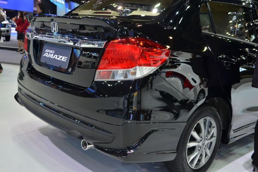 GALLERY: Honda Brio Amaze with Modulo add-ons Image #143858