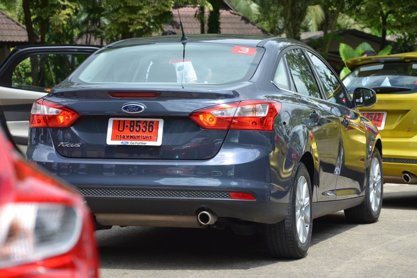 DRIVEN: New Ford Focus Hatch and Sedan in Krabi Image #118285