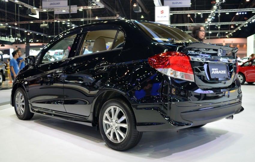 GALLERY: Honda Brio Amaze with Modulo add-ons Image #143859