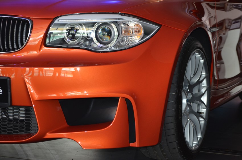 BMW 1 Series M Coupe: only 3 for Malaysia, RM509k Image #113376