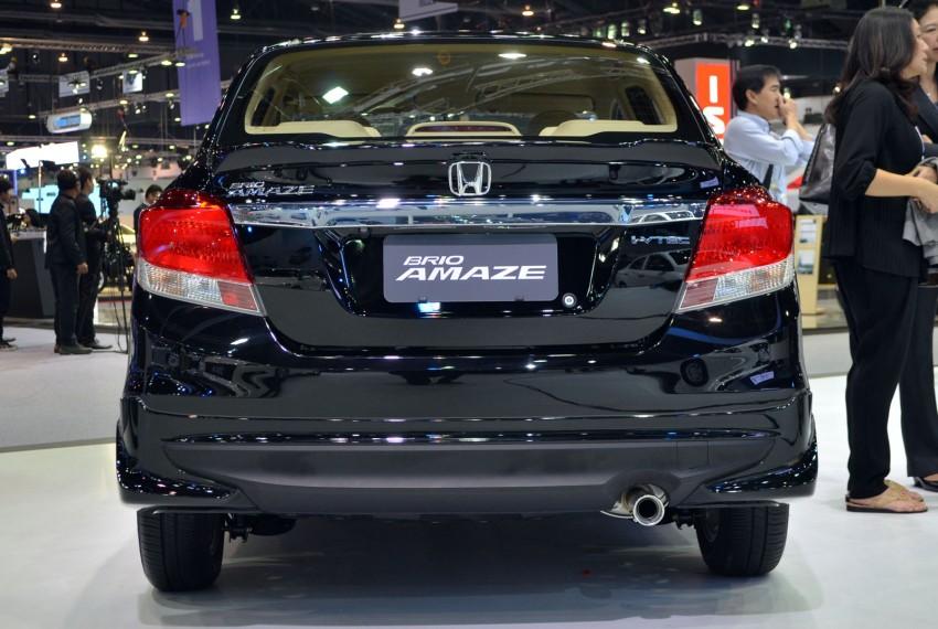 GALLERY: Honda Brio Amaze with Modulo add-ons Image #143861