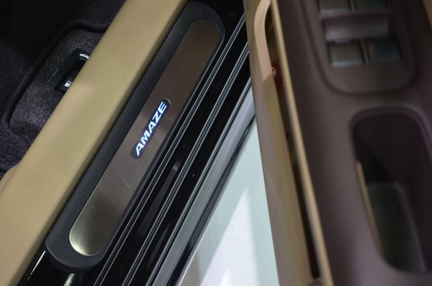 GALLERY: Honda Brio Amaze with Modulo add-ons Image #143862