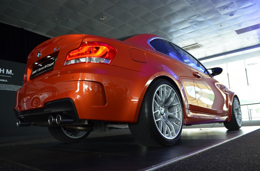 BMW 1 Series M Coupe: only 3 for Malaysia, RM509k Image #113367