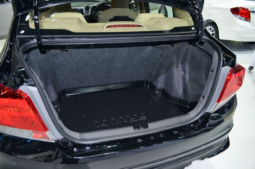 Honda Brio Amaze – Brio sedan eco car makes debut Image #143649