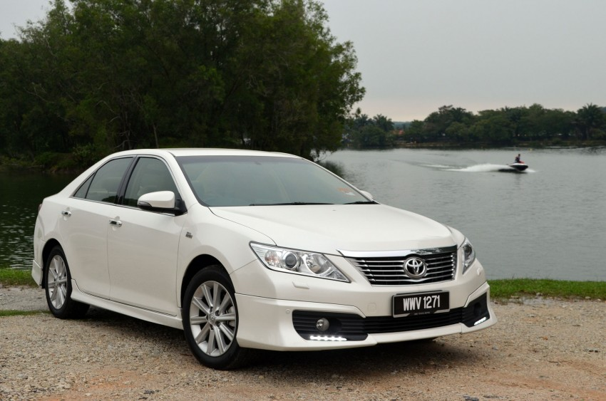 DRIVEN: Toyota Camry 2.5V Test Drive Report Image #135997
