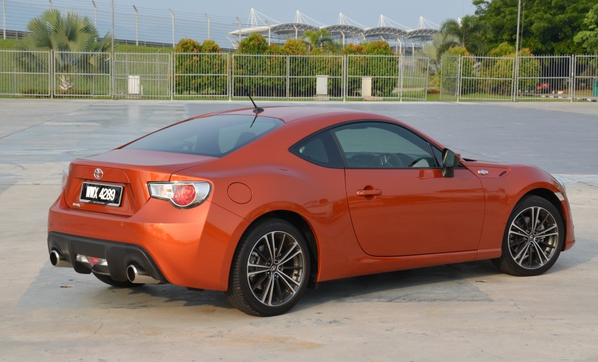 DRIVEN: Toyota 86 – a true gem under the veneer Image #115470