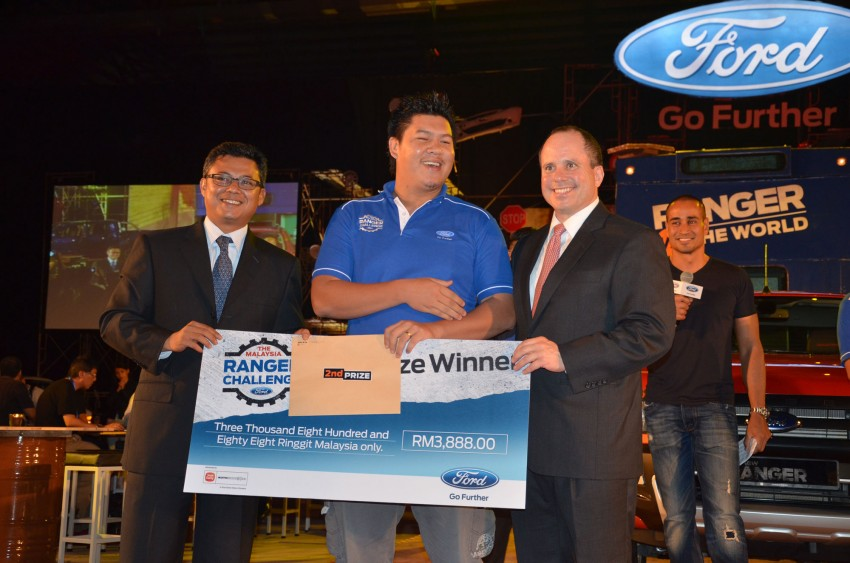 Global Ford Ranger Challenge – Wong Kok Wei from Penang drives away a Ranger XLT 2.2 Manual! Image #114980