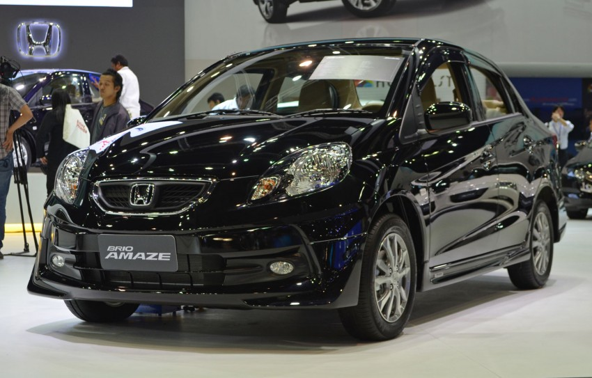 GALLERY: Honda Brio Amaze with Modulo add-ons Image #143866