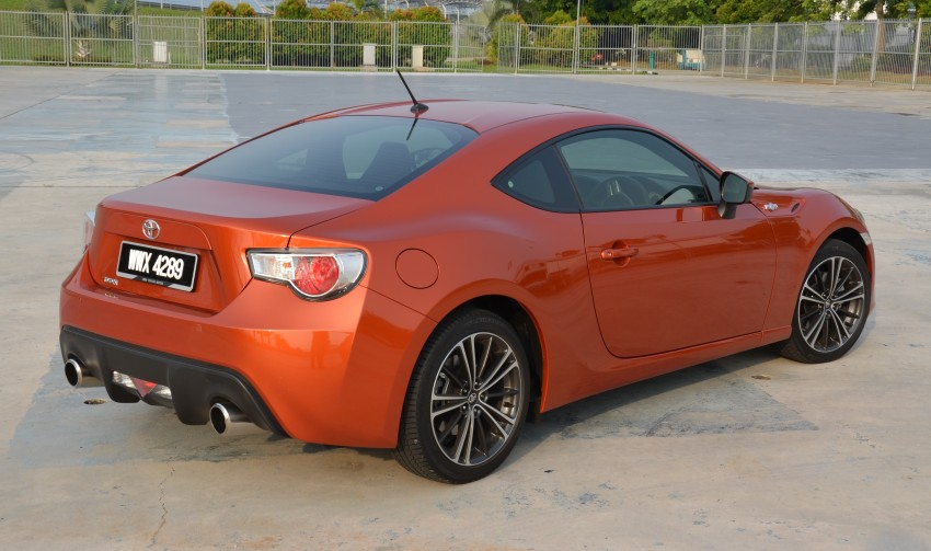 DRIVEN: Toyota 86 – a true gem under the veneer Image #115638