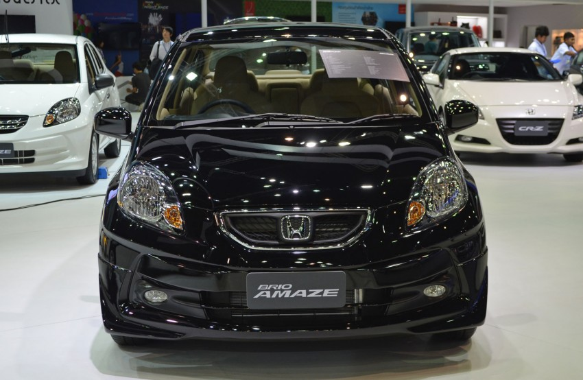 GALLERY: Honda Brio Amaze with Modulo add-ons Image #143867