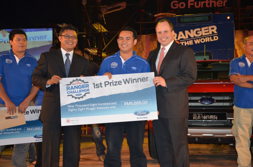 Global Ford Ranger Challenge – Wong Kok Wei from Penang drives away a Ranger XLT 2.2 Manual! Image #114981