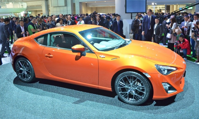 Tokyo 2011 Live: Toyota GT 86 Coupe unveiled! Image #78306