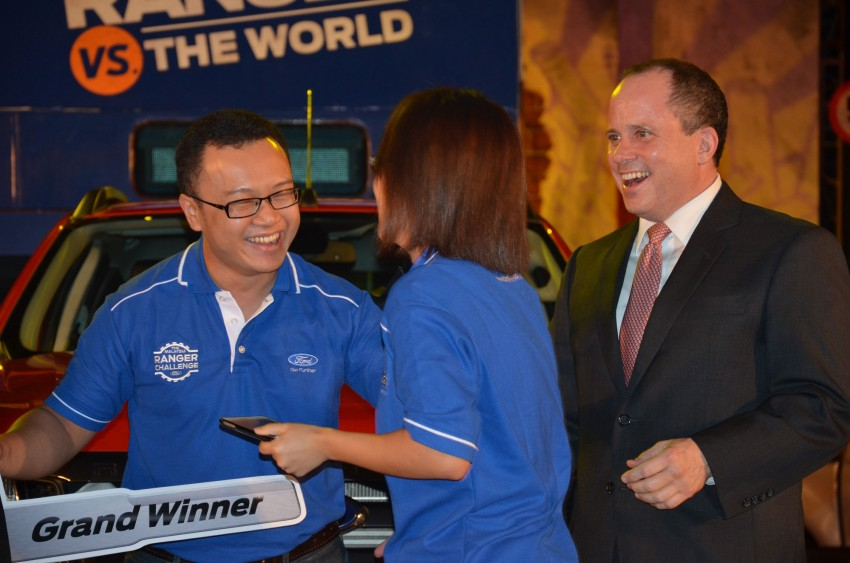 Global Ford Ranger Challenge – Wong Kok Wei from Penang drives away a Ranger XLT 2.2 Manual! Image #114983