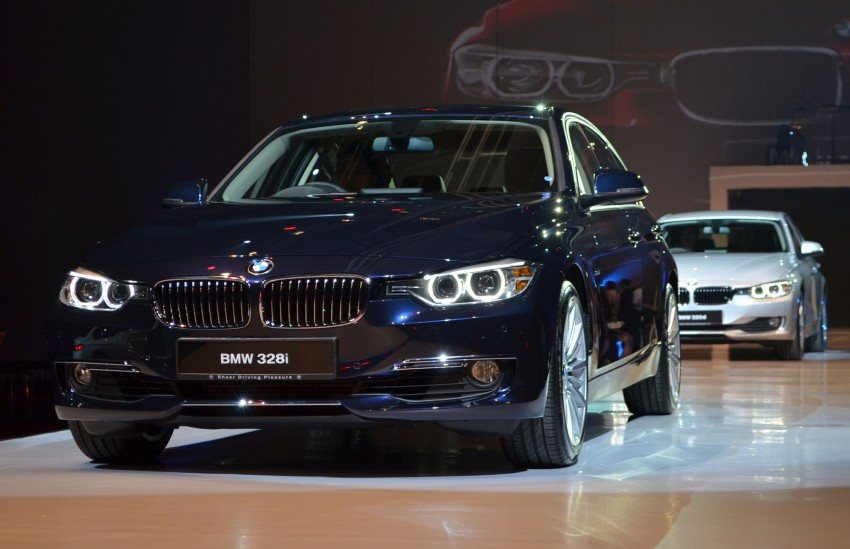 BMW F30 3-Series launched – 335i, 328i, 320d Image #95353