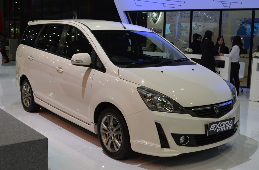 Proton Prevé and Exora Prime launched at Thai Motor Expo, C-segment sedan priced from 625,000 baht Image #143131