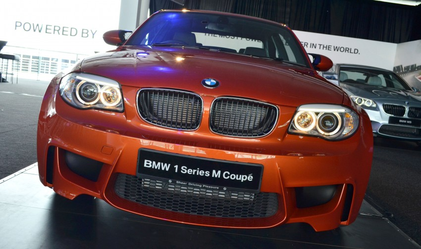 BMW 1 Series M Coupe: only 3 for Malaysia, RM509k Image #113365