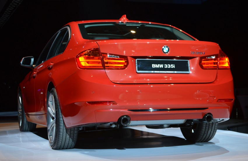 BMW F30 3-Series launched – 335i, 328i, 320d Image #95354