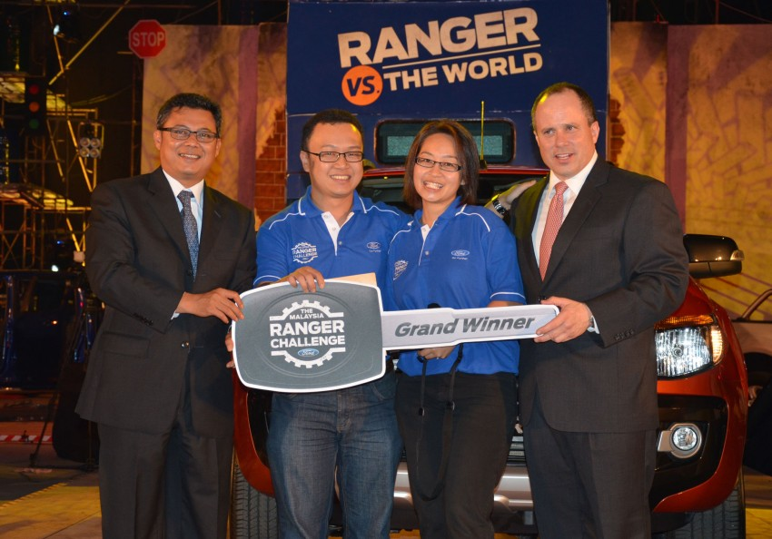 Global Ford Ranger Challenge – Wong Kok Wei from Penang drives away a Ranger XLT 2.2 Manual! Image #114984