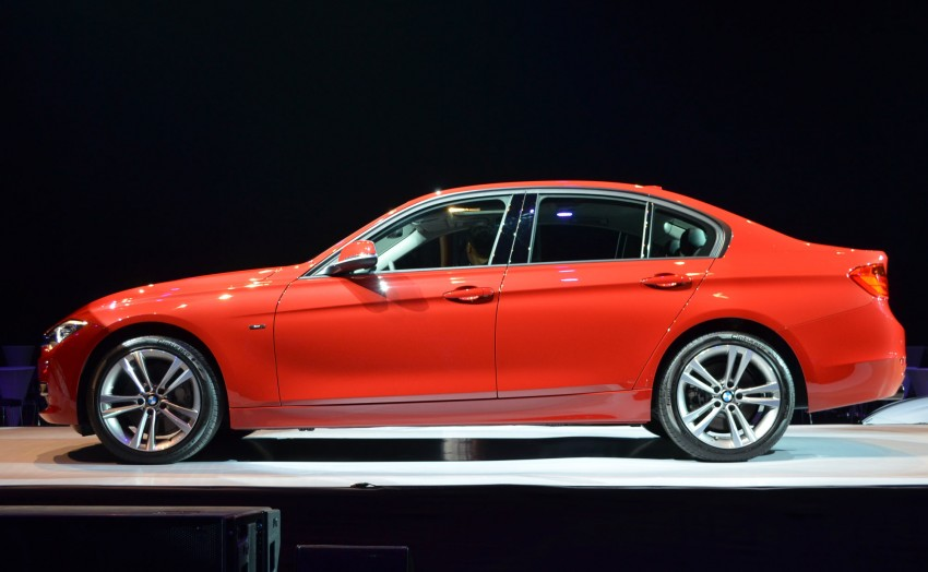 BMW F30 3-Series launched – 335i, 328i, 320d Image #95355
