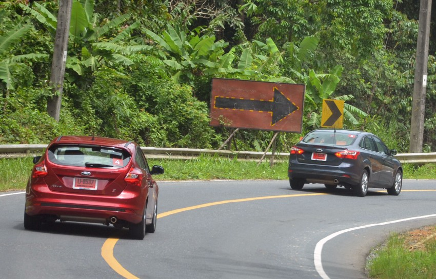 DRIVEN: New Ford Focus Hatch and Sedan in Krabi Image #118299