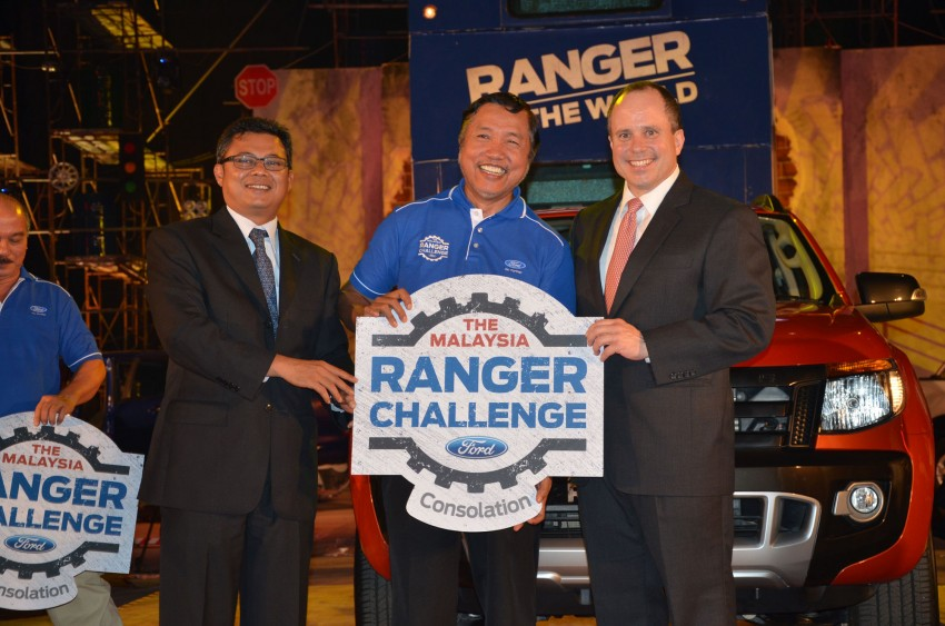Global Ford Ranger Challenge – Wong Kok Wei from Penang drives away a Ranger XLT 2.2 Manual! Image #114986