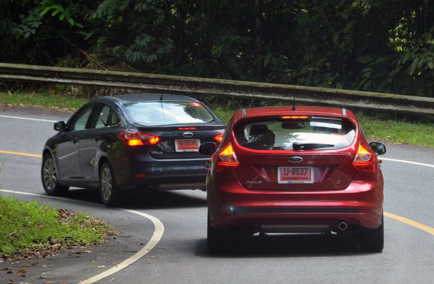 DRIVEN: New Ford Focus Hatch and Sedan in Krabi Image #118300