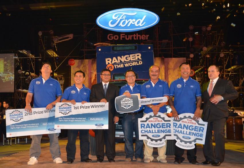 Global Ford Ranger Challenge – Wong Kok Wei from Penang drives away a Ranger XLT 2.2 Manual! Image #114987