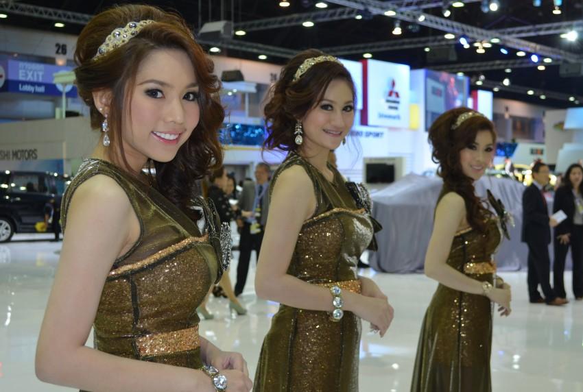 2012 Thai Motor Expo – the ladies wrap it up Image #144586