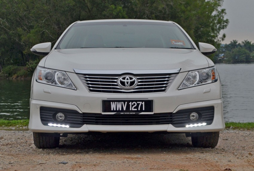 DRIVEN: Toyota Camry 2.5V Test Drive Report Image #136044