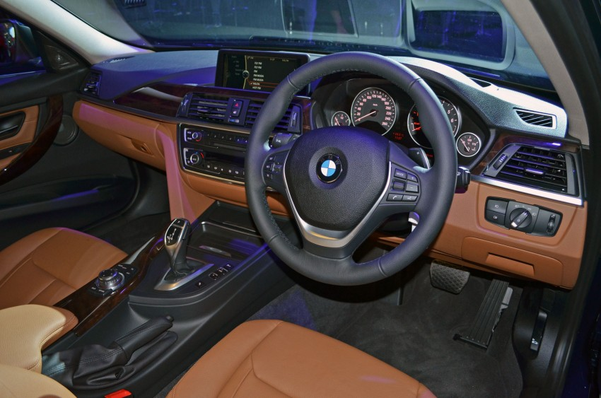 BMW F30 3-Series launched – 335i, 328i, 320d Image #95357