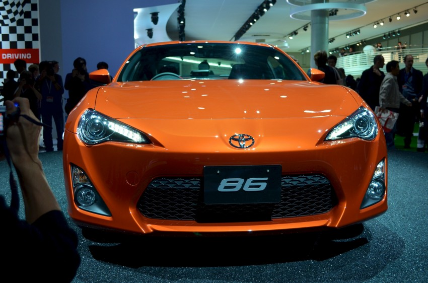 Tokyo 2011 Live: Toyota GT 86 Coupe unveiled! Image #78316