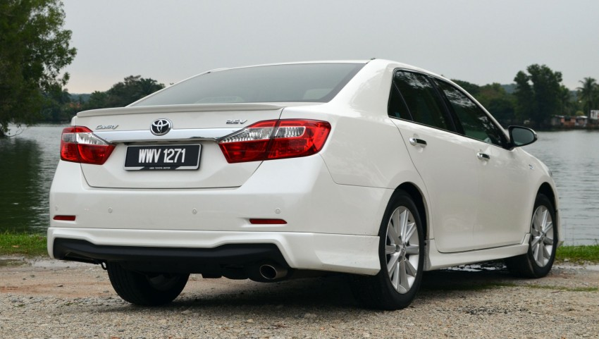 DRIVEN: Toyota Camry 2.5V Test Drive Report Image #136013