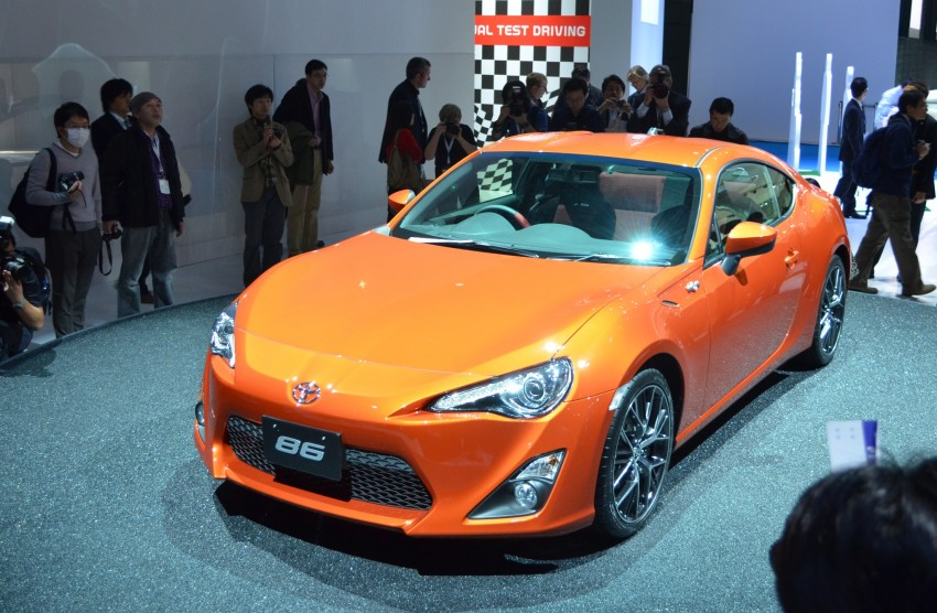 Tokyo 2011 Live: Toyota GT 86 Coupe unveiled! Image #78317