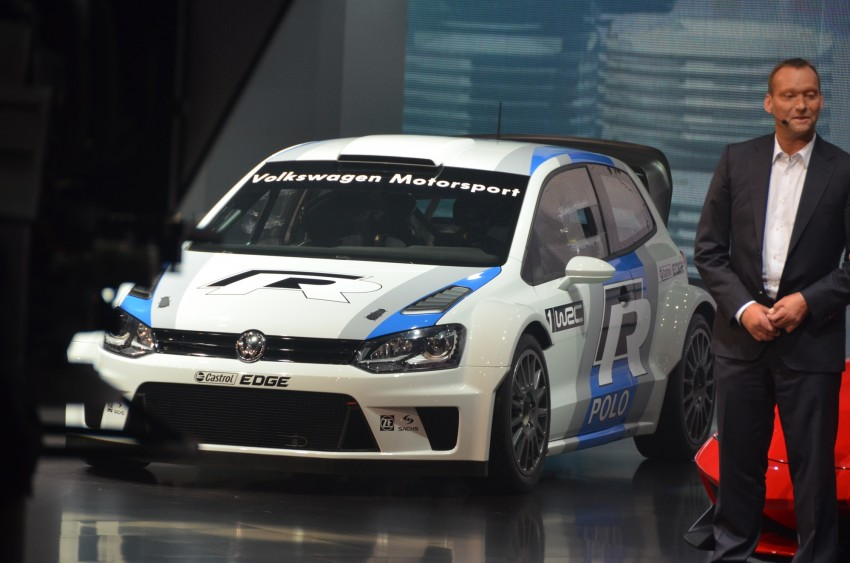 Volkswagen Polo R WRC – 300 horsepower rally car Image #69565