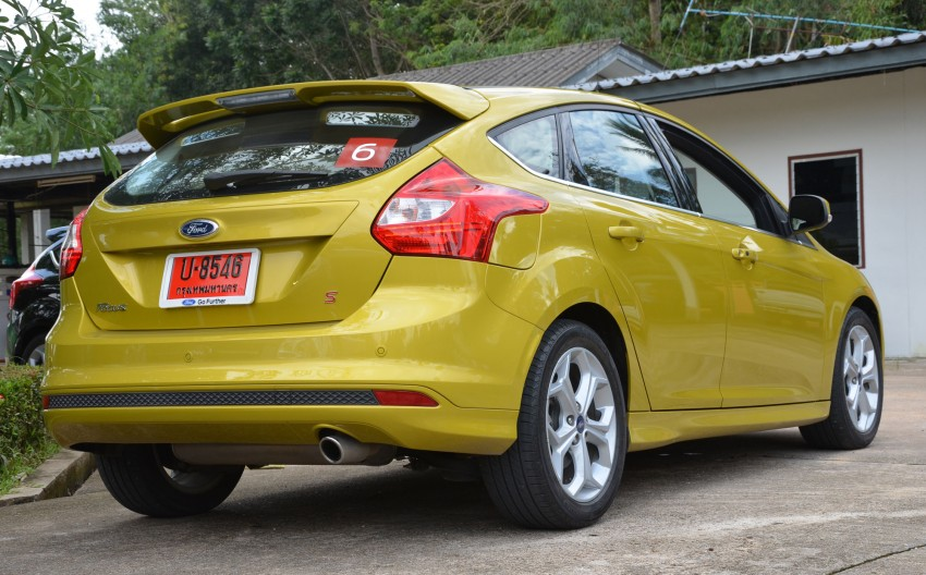 DRIVEN: New Ford Focus Hatch and Sedan in Krabi Image #118309
