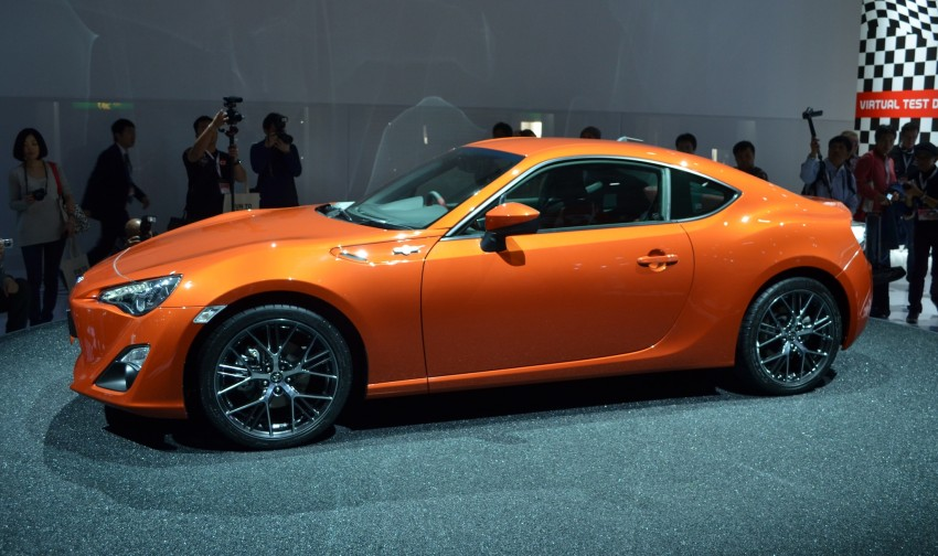 Tokyo 2011 Live: Toyota GT 86 Coupe unveiled! Image #78320