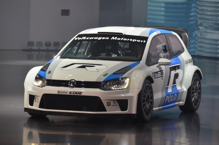 Volkswagen Polo R WRC – 300 horsepower rally car Image #69566